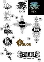 bijou logo set 2 by sounddecor