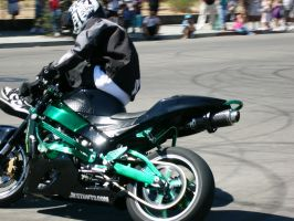 Stunt Riders at Car Show - 9 by RoadTripDog