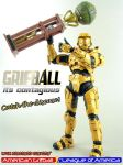 HALO 3 GRIFBALL CHAMP by KyleRobinsonCustoms