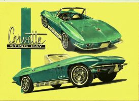 1966 Chevrolet Corvette Stingray by przemus