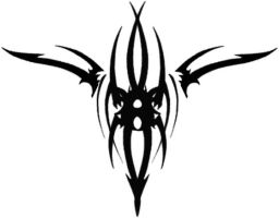 Gothic Spider Tat Small by Runeflame