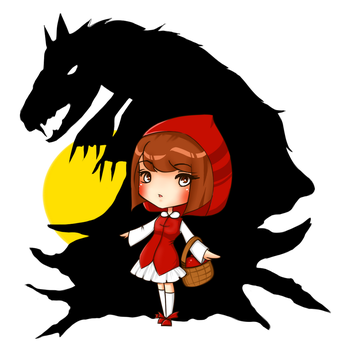 The Red Riding Hood by VanilleTeddy