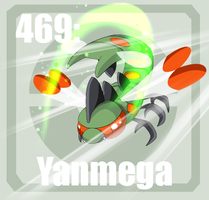 469 Yanmega by Pokedex