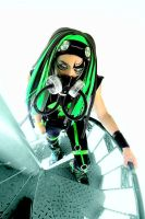 cybergoth verde by jhongomo