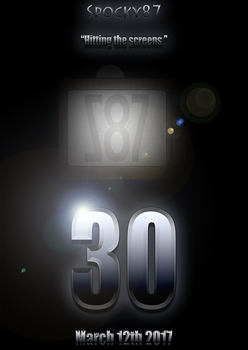 30 Years - Teaser Poster by Spocky87