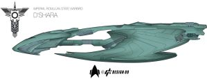 Romulan D'shara WIP 10 Oct 09 by Galen82