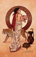 Circe Color Print by LostonWallace