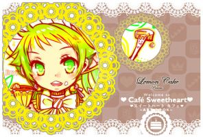 cafe Sweetheart AB - Preview Lemon cake by jinyjin