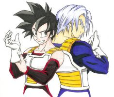 FoT - Trunks and Celari by Rider4Z
