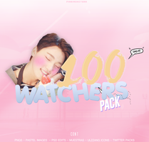 ++100Watchers by PinkMonsterr