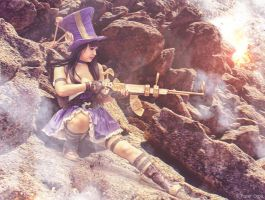 Classic Caitlyn - League of Legends by Paper-Cube