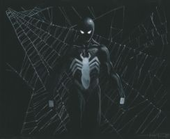 spiderman black by LucaStrati