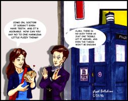Tribble-y wibbly, Timey Wimey by GlyphBellchime