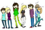 Some Of My Friends. Colored by MemoriaSwan