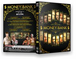 Money in the Bank DVD Cover by Ecku-GFX