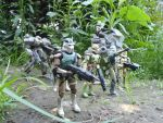 Imperial Stormtroopers in jungle by Krulos