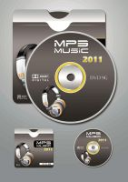 Mp3 Music DVD Cover by spirtualharmoney