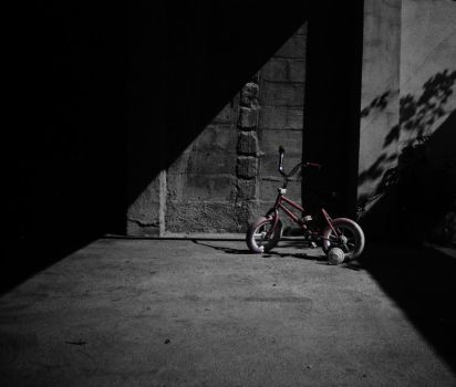 Black Night and a bike by crazthonfry
