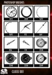 PS Brushes - Clock 001 by darkaion