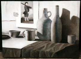 Black and White Still Life by everlynfaith