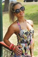 Justine - playsuit and sunnies 2 by wildplaces