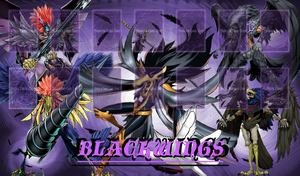 Blackwing Duelmat by jcxtreem