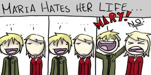 Maria hates you James by ZeTrystan