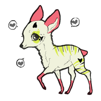 Oh deer 2 ! ADOPTABLE :: by kaaaaaaaat