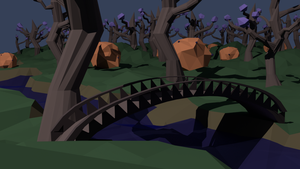 Low Poly Landscape by MorbidManatee