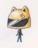 Chibi Celty by Oloring