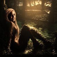 The Dryad by SigbjornPedersen