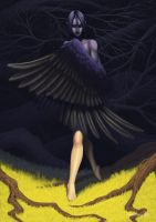 Crow by Electric-Raygun