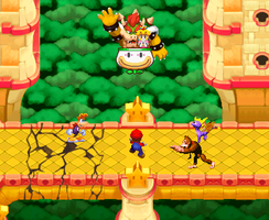 Bowser's escape by boogeyboy1