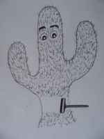 Shave a cactus? by LinMac