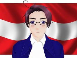 MMD Hetalia model:Austria by Ash080897