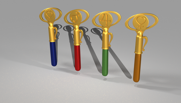 Sailormoon Magical Wands by FriendlyFriend88