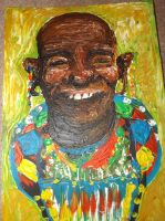 Super Happy Tribal Man by LookAliveHolly