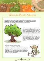 Agnes at The Market: When to Plant Outdoors by BagBe-ingInTheKnow
