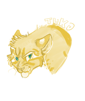 Tuko Headshot | Commission by SaintPumpkinMuffin