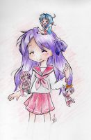 Sketch 2: Lucky Star. by HikariDarkheart