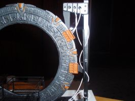 StarGate paper model 3 by BHAAD
