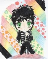 Black Parade Chibi by swimmyanimaddie
