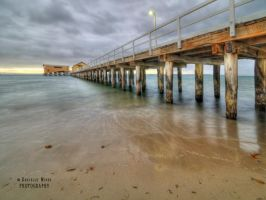 Queenscliff Pier HDR by DanielleMiner