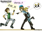 RE Wesker has captured Jill by FiammahGrace