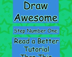 HOW TO DRAW AWESOME by cat-food