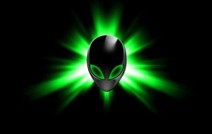 Star Alienware Green by darkangelkrys