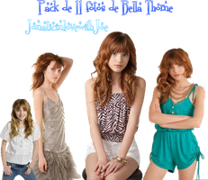 Pack 11 fotos png Bella Thorne by JonaticinlovewithJoe
