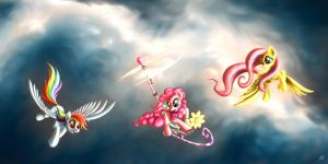 Afternoon Flight by Pyrestorm