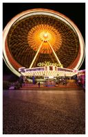 Hamburger Dom Ferris Wheel by teuphil