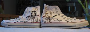 vampire shoes by GabrielWings